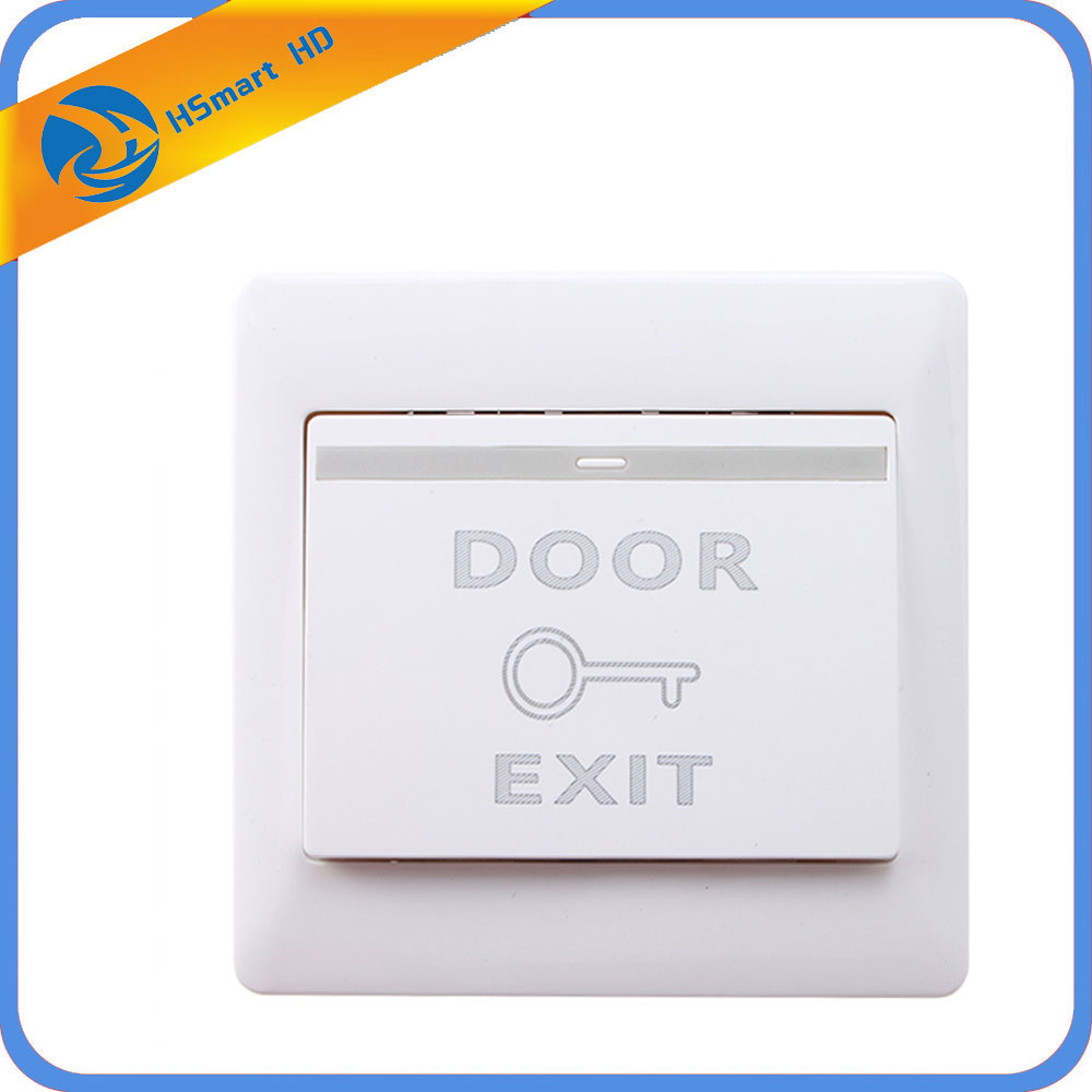 Door Small Exit Push Release Button Switch Panel for Electric Access Control System for Access Control Electric magnetic Lock double sided turnstile for access control system catracas tourniquetes
