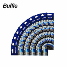 10pcs/10packs Buffle Cell Batteries LR43 AG12 SR43 260 386 1.55V Alkaline Watch Coin Battery стоимость