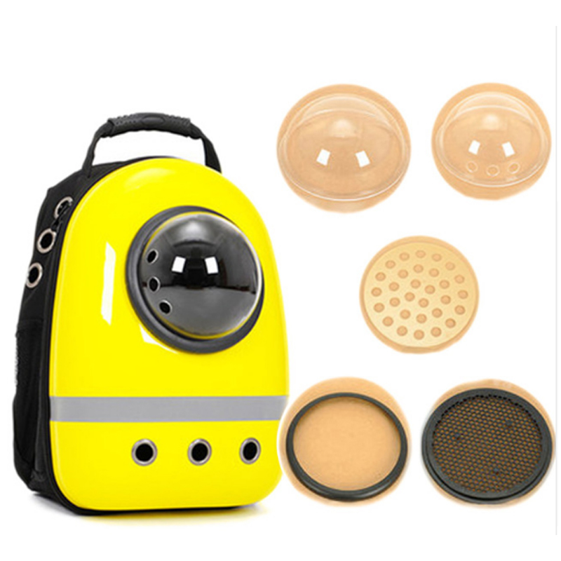 Space Capsule Shaped Pet Carrier Breathable Pet Backpack Pc Pet Dog Outside Travel Bag Portable Bag Cat Bags #6