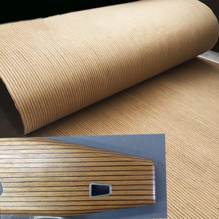 Technical Veneer Sliced Wood Engineering Veneer E.V.  AUDI Black Oak 64x250cm Tissue Backing 0.3mm Thick Q/C