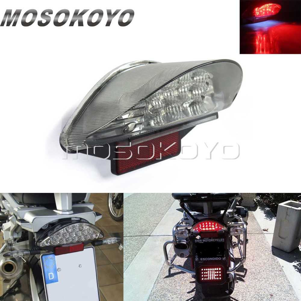 Motorcycle 16 PCS LED Tail Light Brake Stop Lamp Taillight for BMW R1200GS ADV F650GS F650ST F800S F800STMotorcycle 16 PCS LED Tail Light Brake Stop Lamp Taillight for BMW R1200GS ADV F650GS F650ST F800S F800ST