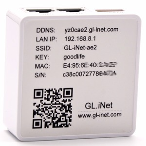 Image 2 - GL. iNet 6416 AR9331 802.11n 150 Mbps Wireless Mini WiFi Router OPENWRT Firmware Wi Fi Repeater Du Lịch Router 16 MB Flash/64 MB RAM