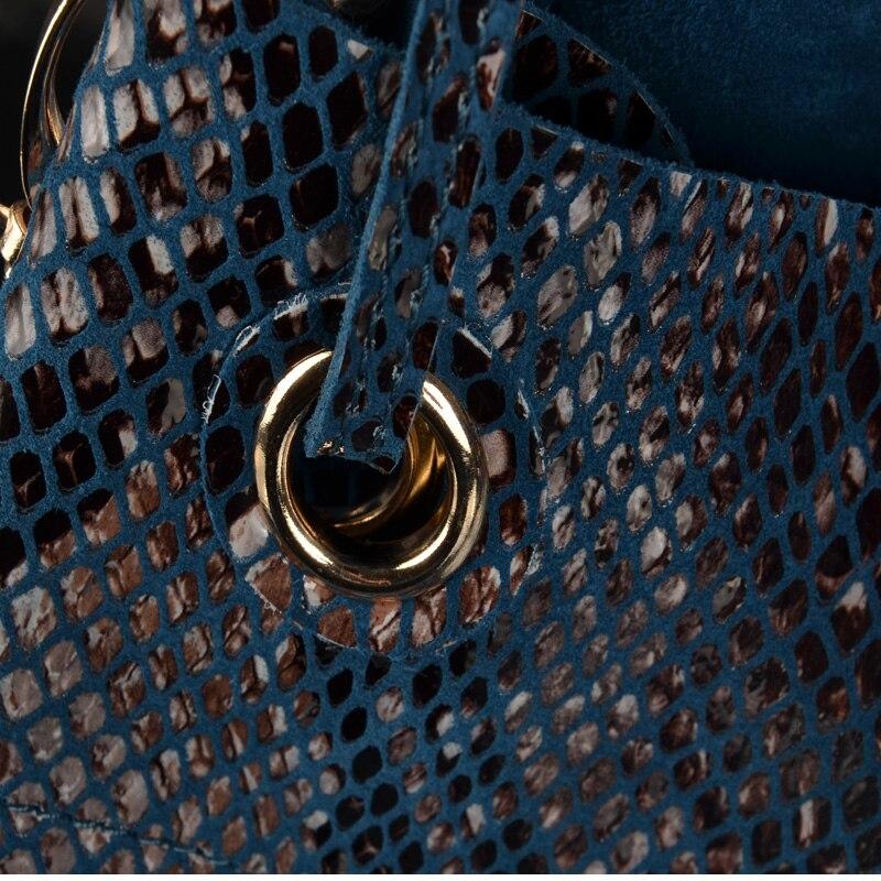 D'épaule Seau noir Femmes Motif Gris camouflage Bandoulière rouge bleu À bleu Serpent Cordon camouflage En Noir Véritable gris Cuir rouge Sac Main pwOrSqY8Ox