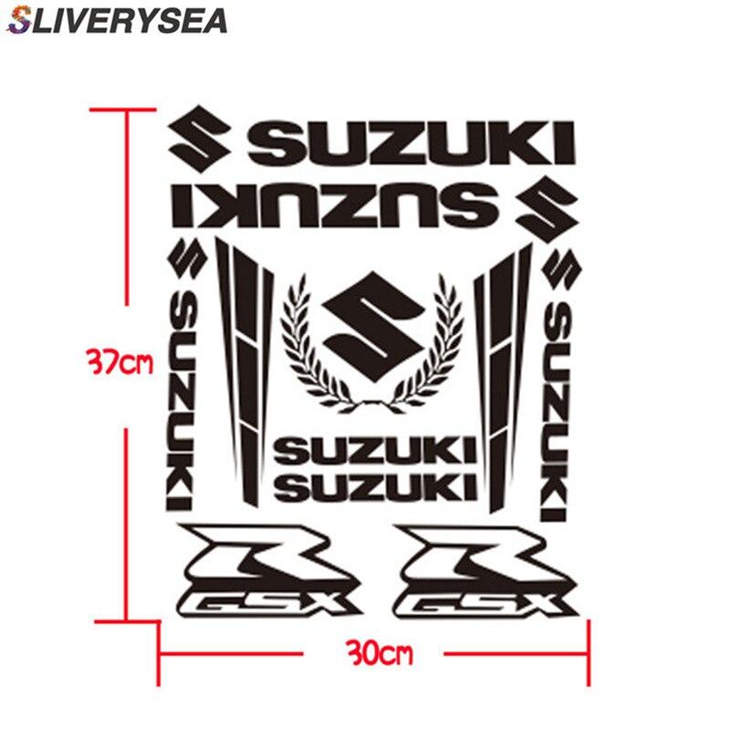 37*30cm For Suzuki GSX Logo JDM Reflective Sticker