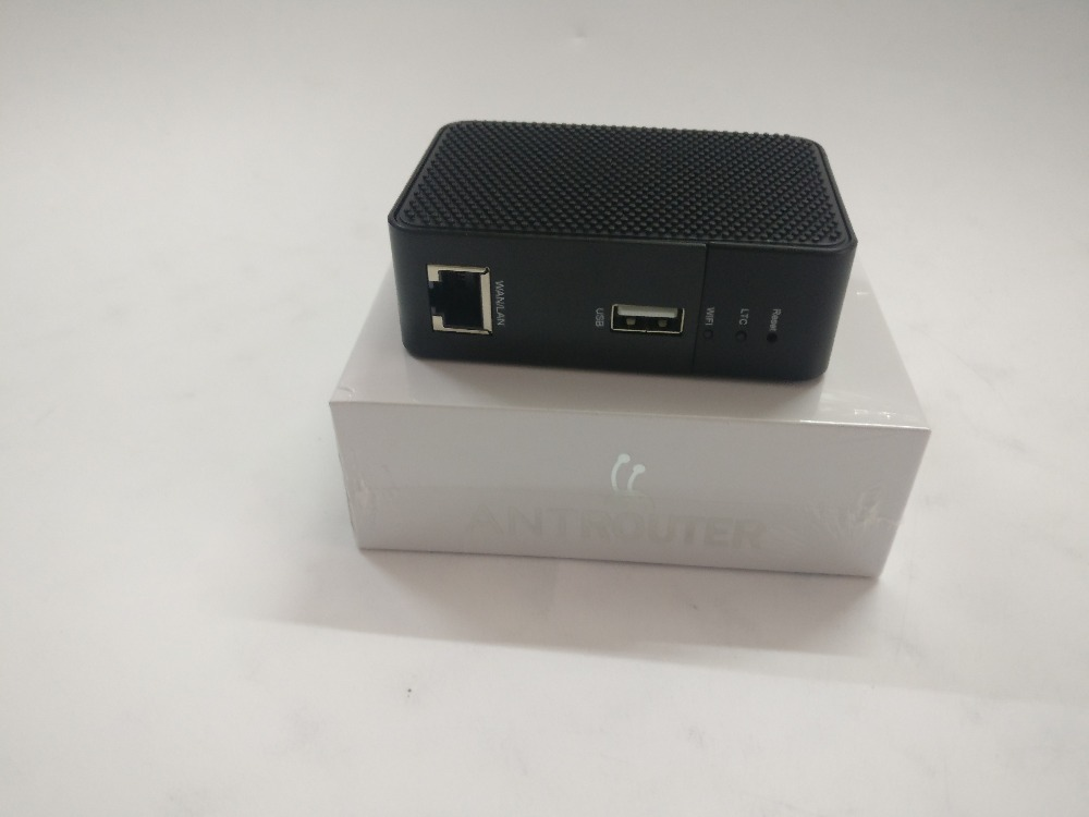ANT MINER R1 LTC Miner 1.29Mh/s Scrypt Miner Litecoin Mining Machine And 2.4G Antminer Wireless Router 150mbPS 150m WiFi 1