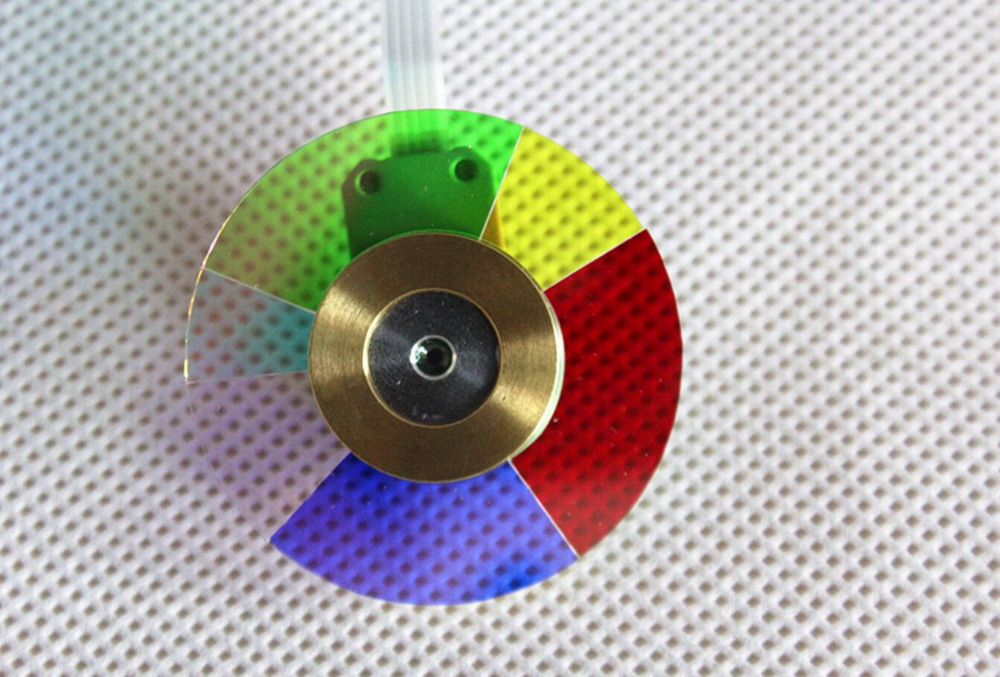 Free Shipping ! NEW original  Projector Color Wheel For  PT-FD605 Color wheel  1PCS mp620 mp622 mp625 projector color wheel mp620 mp622 mp625