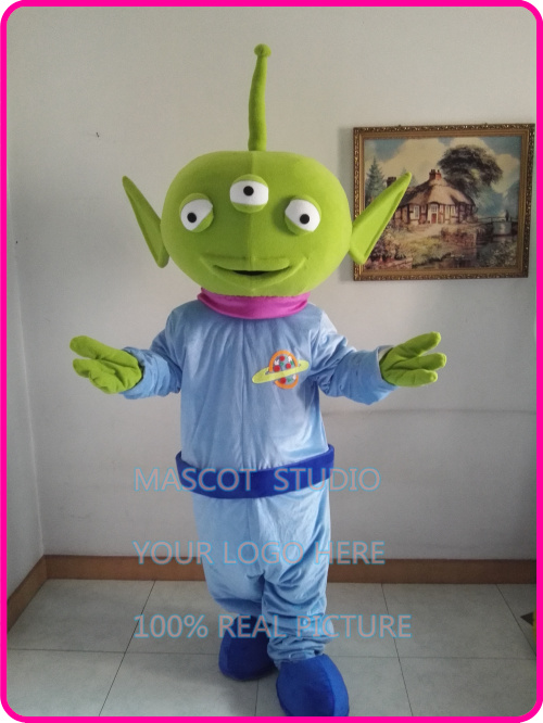 Mascotte Extraterrestre Alien mascotte costume halloween noël carnaval anime Alien Mascotte costumes