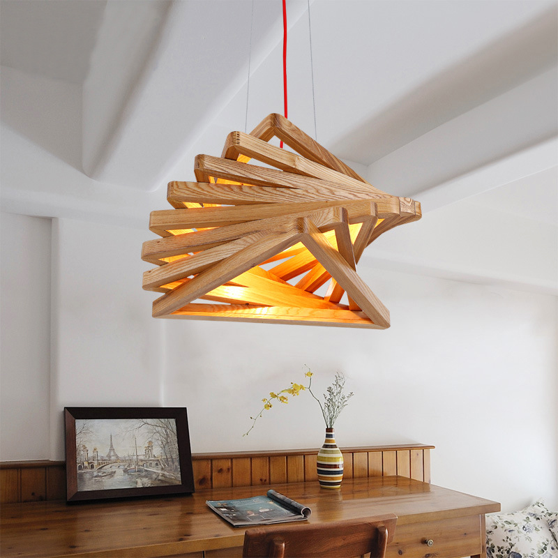 Vintage Wood  Pendant Light - Retro Pendant lamp with Edison Bulbs For Living Room Dining Room Home Lighting Fixture 110V/220V adriatica a3146 1213q