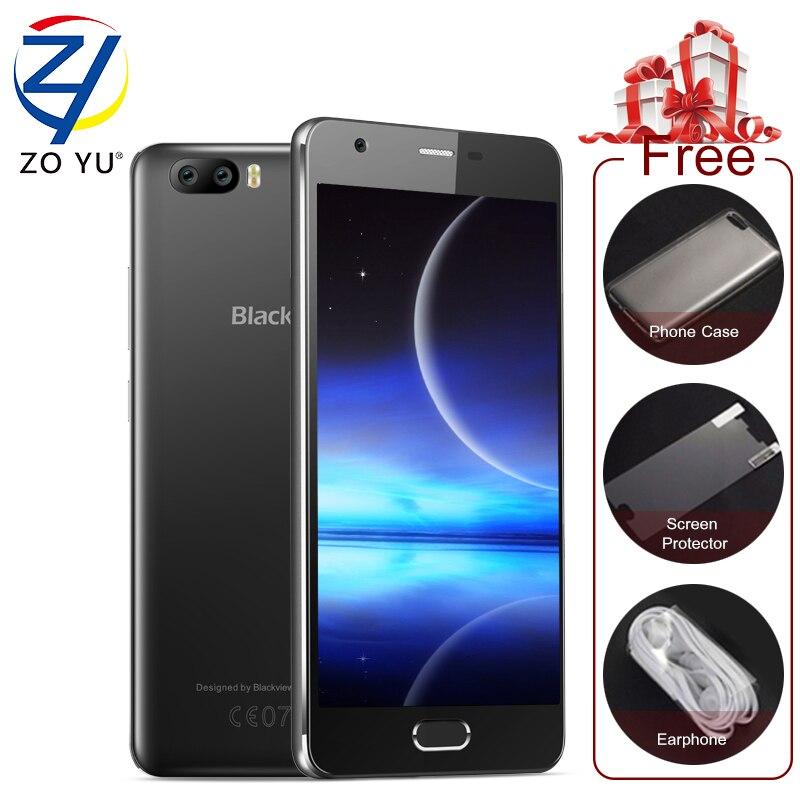 Blackview a9pro 4g lte android 7.0 teléfono móvil 2g + 16g smartphone 8.0mp quad