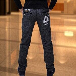 Image 4 - Chłopięce spodnie modele zimowe duże dziewicze spodnie rozciągliwe dziecięce spodnie dorywczo spodnie chłopięce dodatkowo pogrubiony aksamit dziecięcy pojedynczy/spodnie