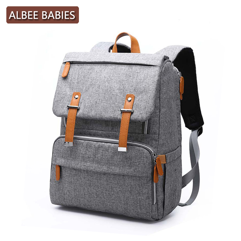 ALBEE BABIES Baby Care Diaper Maternity Bag for Mom Mommy Backpack Stroller Nappy Changing Bags Wet Mother Travel Nursing  ALBEE BABIES Baby Care Diaper Maternity Bag for Mom Mommy Backpack Stroller Nappy Changing Bags Wet Mother Travel Nursing