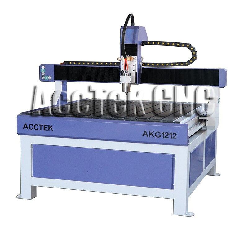 Coupe bois/plastique/MDF MINI 3D CNC routeur MACHINE AKG1212
