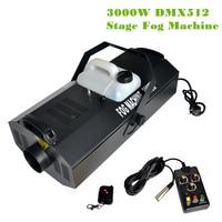 AC110V 220 В туман машины 3000 Вт дыма на водной основе DMX512 сценический эффект воды/дым масло Дискотека Туман дым машина + пульт