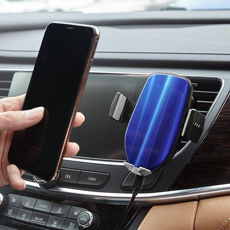 10 w Sans Fil Chargeur De Voiture Support de Téléphone Compatible pour iPhone Xs XR X 8 plus pour Samsung Galaxy S9 S9 plus S8 Plus Note 8