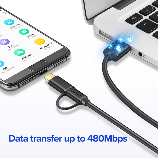 Fast Charging All in One USB Cable for Phones