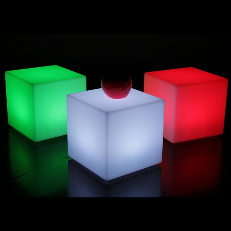 20cm Color Change LED Light Up Cube Bar Chairs Furniture For Wedding  Docoration In Hair Clips U0026 Pins From Beauty U0026 Health On Aliexpress.com |  Alibaba Group