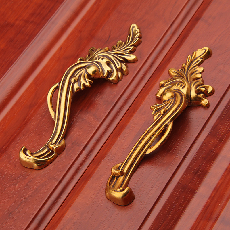 gold cabinet hardware 96mm gold brass drawer handles rustic kitchen 15952