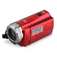 "2.7"" TFT LCD 16MP Digital Camera HD 720P Photo Video Camcorder 16X Zoom Anti-shake DV LED Fill Light Non-touch Cheap Camera Red"