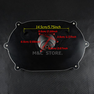 Image 5 - Воздухоочиститель для мотоцикла, красный комплект для Harley XL Sportster 04 19 Dyna 00 17 Touring Street Glide Road Glide Dyna Softail