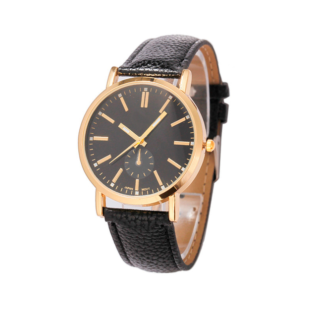 OTOKY 2017 Luxury Women Watches Unisex Leather Band Analog Quartz Wrist Watch re
