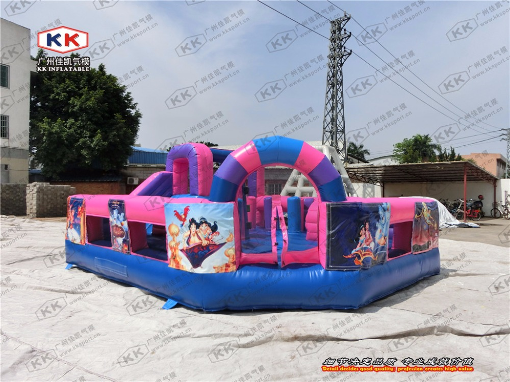 inflatable amusement park princess inflatable jumping castle inflatable amusement park for event inflatable bouncer house outsid