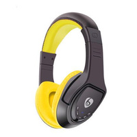 Bluetooth Wireless Headphones MX333 On-Ear Headset with Microphone, Micro SD Card Player,FM Radio for iPhone, Samsung