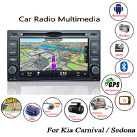 Liandlee For Kia Carnival Sedona 2006 2014 Android Car Radio CD DVD Player GPS Navi Navigation