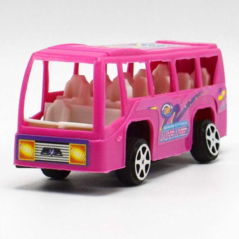 Pull Back Bus Car Toys for Boys Children Baby Mini Cars Cartoon Bus Toys for Kids Children Toy Randomly Sent