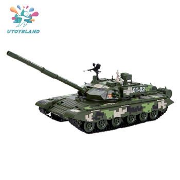 Alloy 99-type Main Battle Tank Model Simulation Military Tank Model Gift Toy