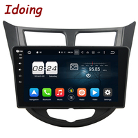 Idoing 10 1 Steering Wheel 8Core 2G 32G 2Din For Hyundai Accent Verna Solaris Android 6