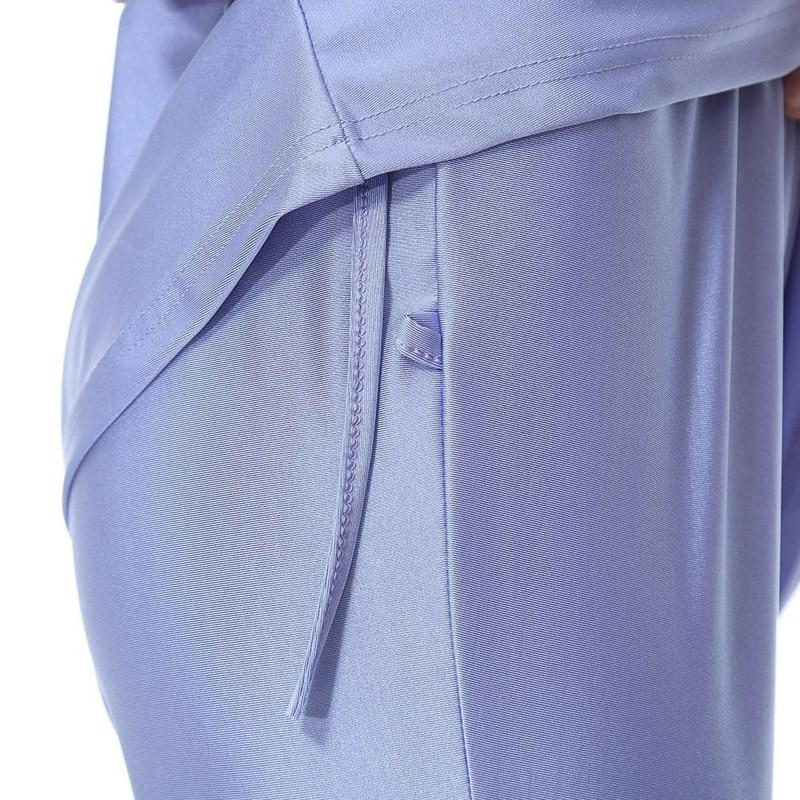 Muslim Swimsuit Islamic Lady Conservative Bathing suit Full Cover Beach Skirts  Burkinis Short Sleeves Swim Wear