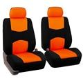 2 assentos dianteiros Univeraal tampa de assento do carro para Dacia LOGAN SANDERO DUSTER DOKKER LODGY acessórios do carro etiqueta do carro