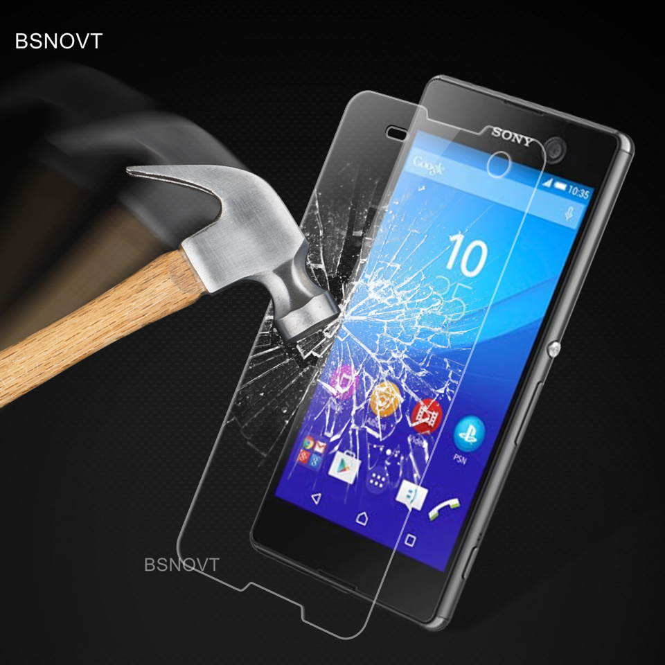 2PCS Screen Protector Glass sFor Sony Xperia M5 Screen Protector Tempered Glass For Sony Xperia M5 Glass Phone Film For Sony M5