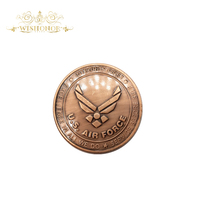 2017 New Products US AIR FORCE Coin Fighting Falcon F-16 Coin American Military Custom Challenge Coin Brass Plated