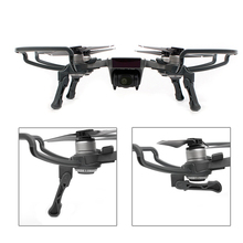 лучшая цена dji Spark Drone Accessories Prop Protector Propeller Guards Protection Combined Foldable Landing Gears Legs Heighten holder