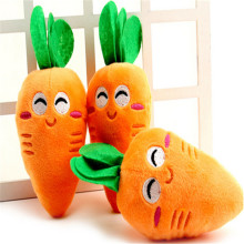 The New Cute Pet Toy Plush Sound Carrot Vegetables