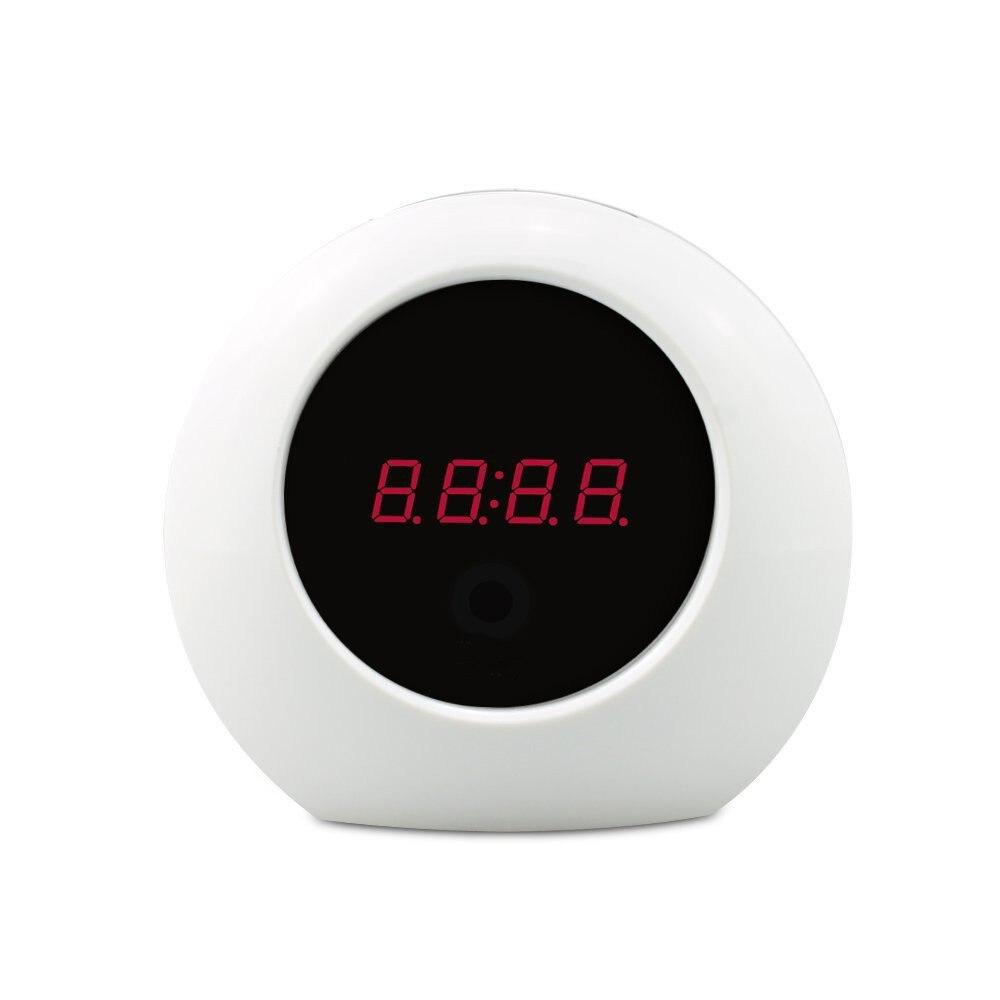 1080P Video Camera, 1/4 CMOS 2M Megapixel Mini DV For Home Using Alarm Clock Camera With 8G Micro SD Card светильник подвесной maranga d32 кофейный