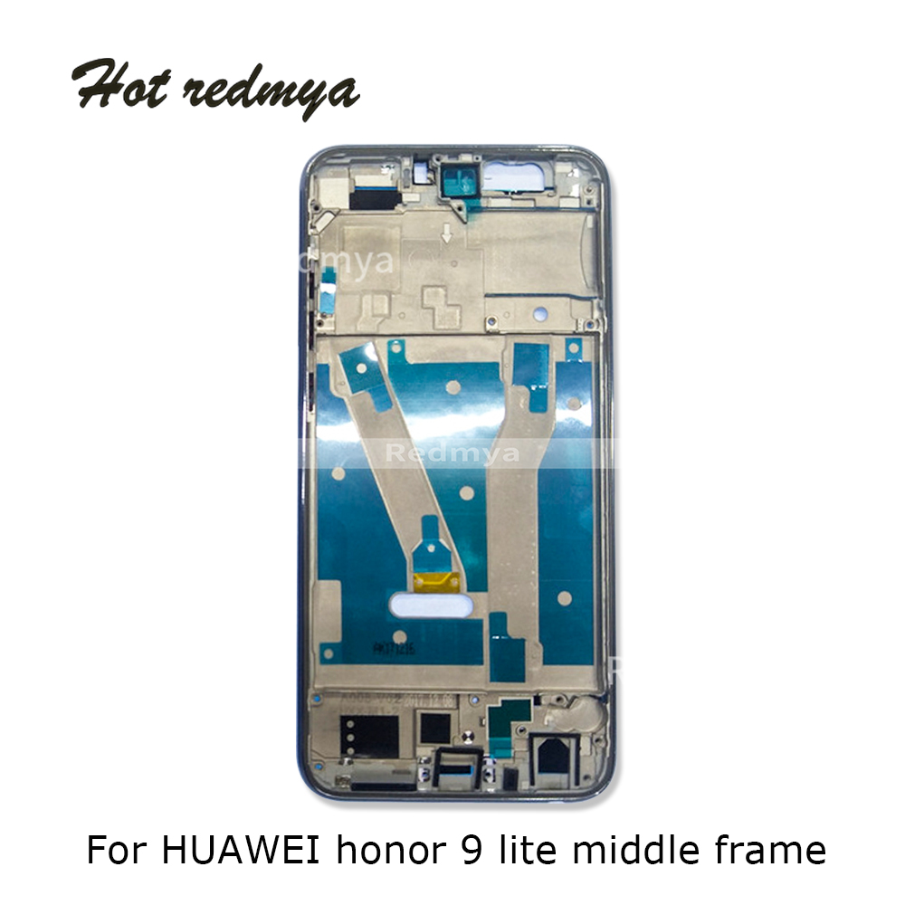 <font><b>9</b></font> <font><b>lite</b></font> Middle Frame For Huawei <font><b>Honor</b></font> <font><b>9</b></font> <font><b>lite</b></font> Housing Middle Front Bezel Frame Plate Replacement Repair Spare <font><b>Parts</b></font> image