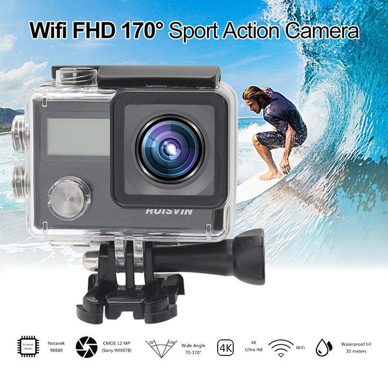 Ruisvin s30a wifi fhd 170 grados cámara del deporte de acción videocámara notave