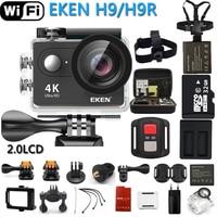 Macchina Fotografica di Azione originale EKEN eken H9R/H9 Ultra HD 4 K WiFi Remote Control Sport Video Camcorder DVR DV go pro Impermeabile fotocamera