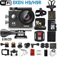 Original EKEN Action Camera eken H9R / H9 Ultra HD 4K WiFi Remote Control Sports Video Camcorder DVR DV go Waterproof pro Camera(China)