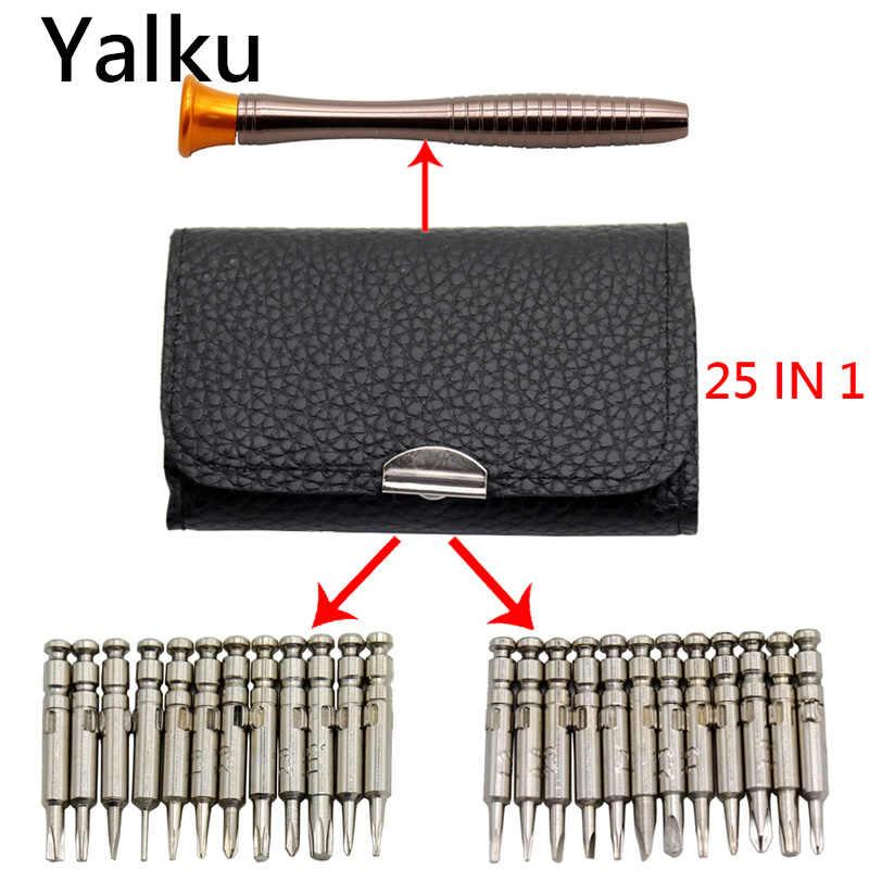Yalku Многофункциональный Комбинации Набор отверток 45 в 1 мобильный телефон ремонт ручной инструмент Отвертка Ремонт набор инструментов