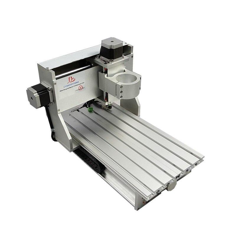 Cnc fraisage machine cadre 3020 vis à billes 2030 épaisseur table avec limite switchs
