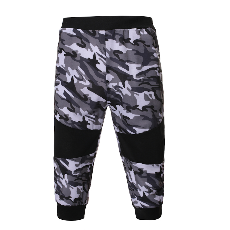 2019 Summer New Men'S Hot Classic Sports And Leisure Camouflage Set Sleeveless Vest, Camouflage Shorts 2 Piece Sports Suit 3