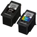 2 Pack HIGH QUALITY Compatible 540 541 INK CARTRIDGE FOR CANON PG540 CL541 XL FOR CANON PIXMA MG4200 MG4250 MG2250 PRINTER