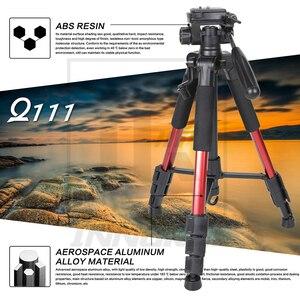 Image 2 - Neue Zomei Q111 Aluminium Legierung Mini Tragbare Stativ für DSLR kamera professionelle licht compact travel stehen