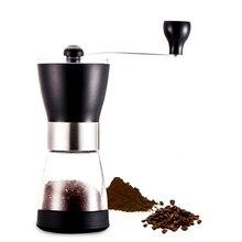 El yapımı Paslanmaz Çelik Retro Kahve öğütme makinesi Biber Değirmeni Kahve Değirmeni Ev Mutfak Mini Manuel El Kahve Grinde