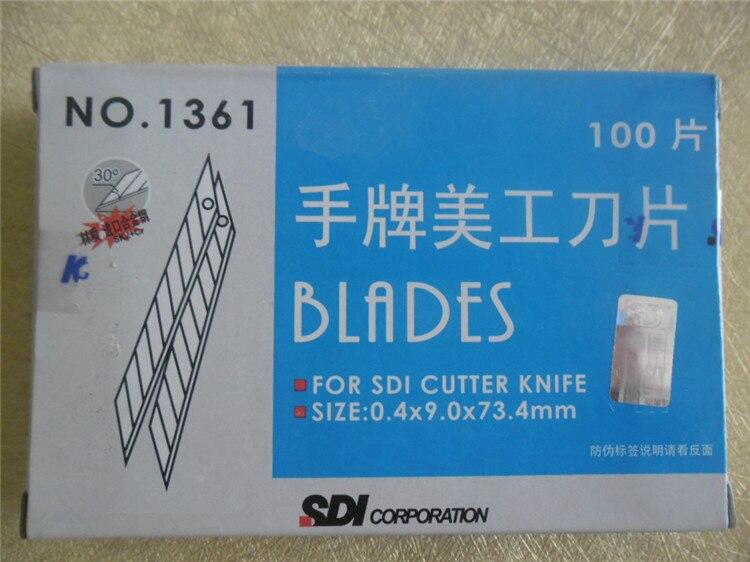 Messer Ersetzen Die Carving Klinge Universalmesser Werkzeuge Büromaterial Kunst Student Lieferungen Silber Universalmesser Durable Sharp Klinge