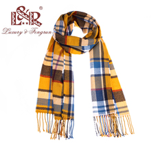 Fashionable Cashmere Scarf Plaid