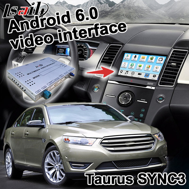 Android Navigation Box For Ford Taurus Etc Video Interface Box Sony Sync  Carplay Mirror Link